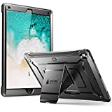 Neu iPad Pro 12,9 2017 Hülle, Supcase [Unicorn Beetle PRO] Schutzhülle Ganzkörper Cover Robust Hülle mit eingebautem Bildschirmschutz & Ständer für Apple iPad Pro 12,9 Zoll 2017, Schwarz