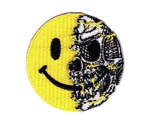 Titan One Europe - Tactical Smiley Skull Patch Taktisch Klettband Aufnäher