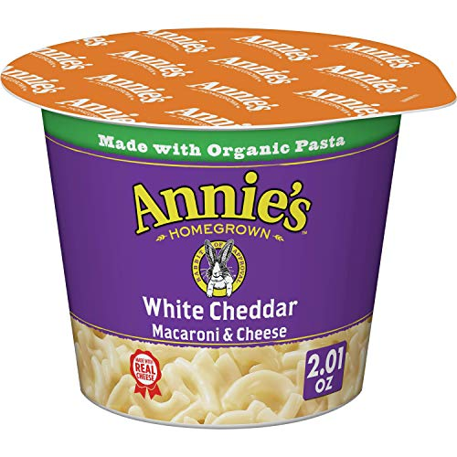 Annie#039s White Cheddar Microwavable Macaroni amp Cheese 12 cups 201oz Pack of 12