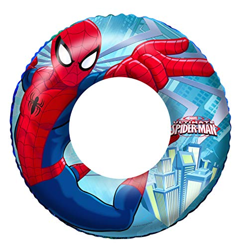 Bestway 98003 - Flotador Hinchable Infantil Spiderman 56 cm