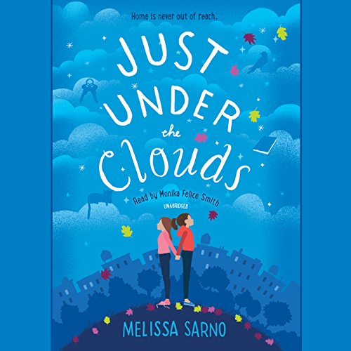 Just Under the Clouds audiobook cover art