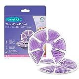 Lansinoh Terapia de Frío / Calor para el Pecho, TheraPearl 3 en 1. Para la mastitis, pechos congestionados y ayuda a la estimulación de la salida de la leche materna. 2 unidades con funda lavable