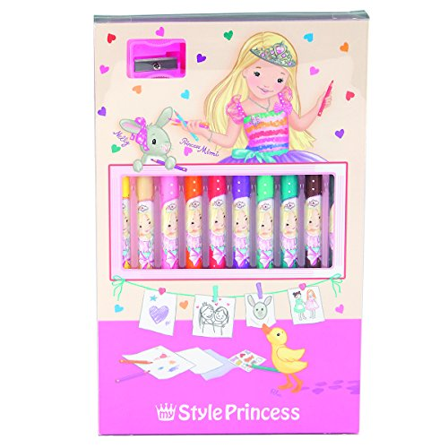 My Style princesse crayon coloré Set
