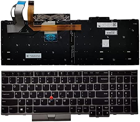 Laptop Replacement US Layout New Shipping Free Backlit E580 Keyboard for Thinkpad 2021 spring and summer new