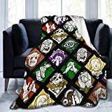 Eollxc Super-Soft Dead by Daylight Perks Comfortable Blankets for Four Seasons, Lightweight Warm Blankets, Suitable for Sofa Blankets for Adults and Children, Bed Blankets 80'' X60