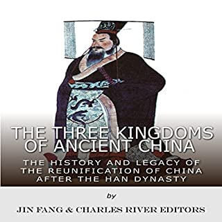 The Three Kingdoms of Ancient China audiobook cover art