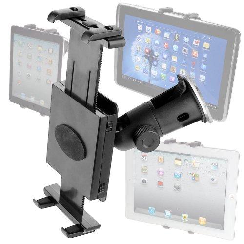yayago Universal Design Kfz Halter -vibrationsfrei- Kfz Halterung 360° dreh- und schwenkbar für Denver Tablet TAQ-70252
