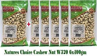 Natures Choice Cashew Nut W320 - 6x400gm