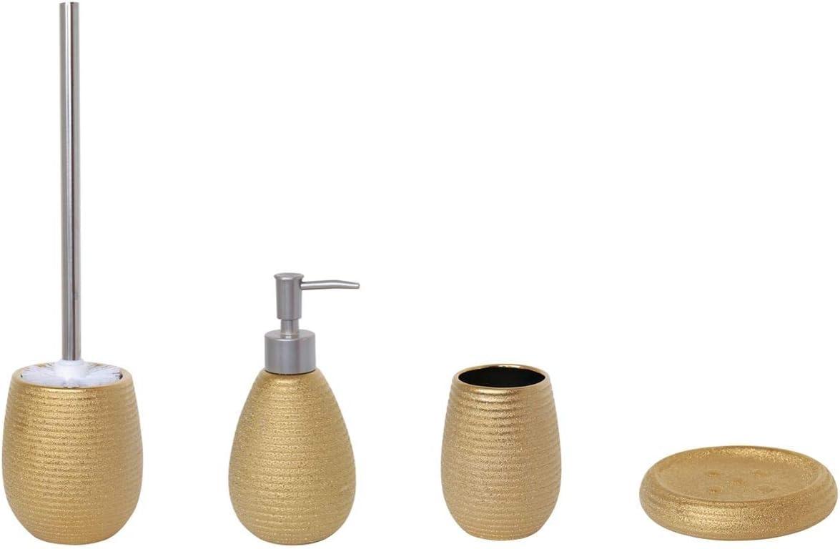 MSV Badezimmer Set, 20 teiliges Badzubehör aus Keramik Oman ...