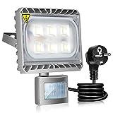 Gosun 30W Projecteur LED Détecteur de Mouvement Eclairage Murale Extérieur Étanche 6000K 2700LM...