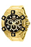 Invicta Men's Reserve Octane 56mm Gold Tone Stainless Steel Chronograph Quartz Watch, Gold (Model: 15827)