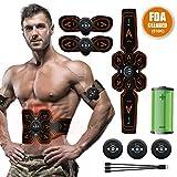 A-TION Electrostimulateur Musculaire Ceinture Abdominale Electrostimulation, Abdos...