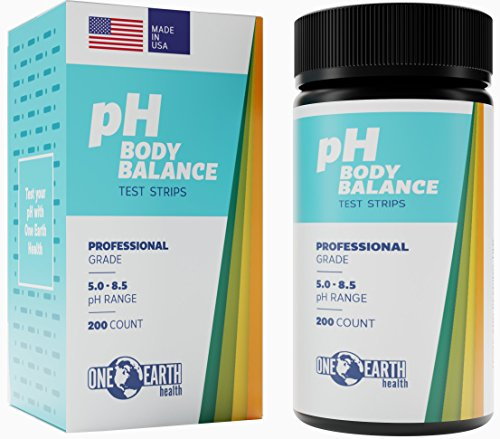 Ph Test Strips: 200 Count (5.0-8.5 Range) Made in USA. Get The Most Accurate ph Test Strips for Urine and Saliva. Full Customer Support. Best pH Test Strips in The Market