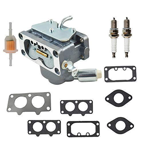 791230 Carburetor Carb with Gasket Kit Fits for Briggs & Stratton V-Twin 4 Cycle 20HP 21HP 23HP 24HP 25HP Vertical Engines Replace # 799230 699709 499804 MIA10632