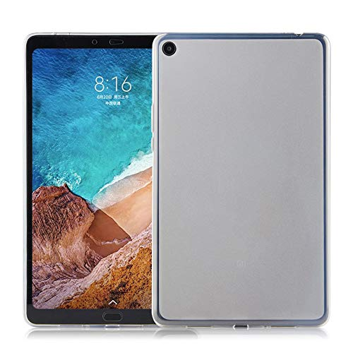Lobwerk - Carcasa para Xiaomi Mi Pad 4 Plus de 10,1 Pulgadas (Ultrafina, TPU, Material Flexible), Transparente