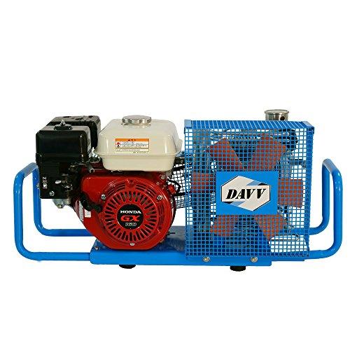 HPDAVV High Pressure Air Compressor - 5.5-HP - With Gas Engine - 3.5cfm @ 4500 Psi - Scuba Tank/PCP Rife/Paintball Air Gun Filling Station