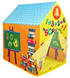 Kiddie Play School Playhouse Kids Play Tent for Boys & Girls Indoor Outdoor Toy