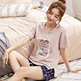 uwant:)sexy clothes 2019 Paar Pyjamas Sommer Kurzarm Baumwolle Damen Shorts Freizeitkleidung Herren Home Service Anzug -