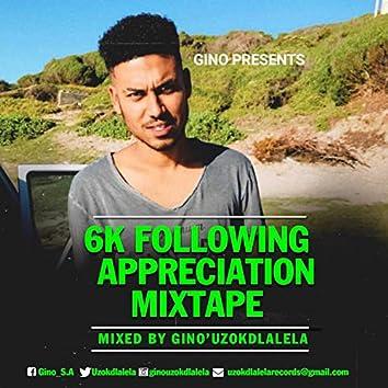 6k following Mixtape (Mixed by Gino'uzokdlalela)