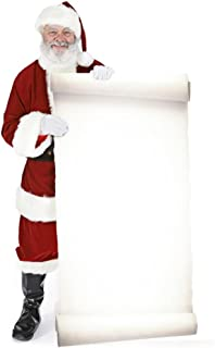 Santa with Large Sign Board Lifesize Standup Cardboard Cutouts 70 x 38in