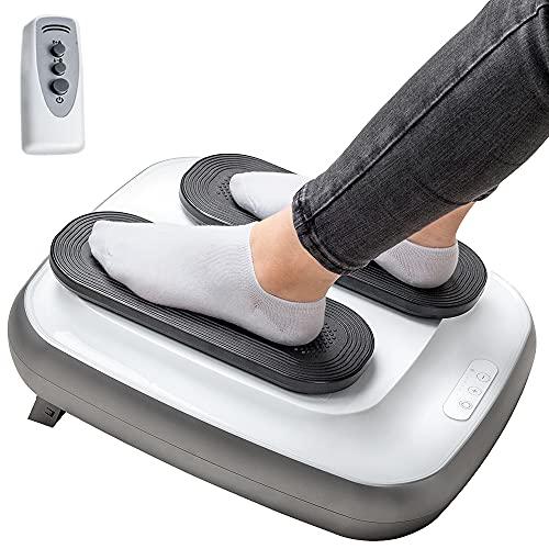 GRIDINLUX | Ejercitador de Piernas | TRAINER LEGS | Gimnasia Pasiva | Mando a Distancia | Altura Regulable | Intensidad Ajustable | Fácil de usar ⭐