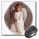 3dRose LLC 8 x 8 x 0.25 Inches Mouse Pad, Angel Victorian Style (mp_597_1)