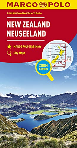 MP KK Neuseeland 1:800.000   D (MARCO POLO Kontinental-/Länderkarten)