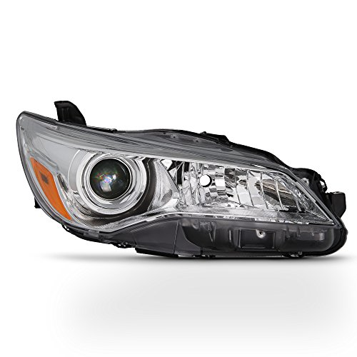For 2015 2016 2017 Toyota Camry XV50 Chrome Housing Factory Style Projector Headlight (Passenger Right Side Only)