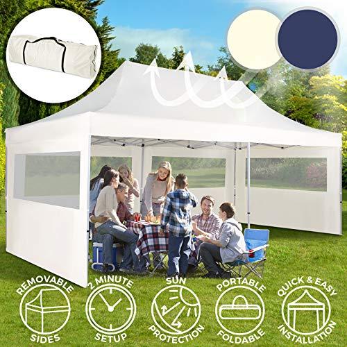 Carpacon Paredes3x6 m   Plegable, Impermeable, con Protección Solar, Ideal para Fiestas en el Jardín, Color a Elegir   Gazebo,...