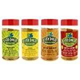 Parma! Vegan Parmesan - 4 Flavor Variety, Dairy-Free, Soy-Free, and Gluten-Free Cheese, Vegan, Plant-Based Superfood (7 ounces, Pack of 4)
