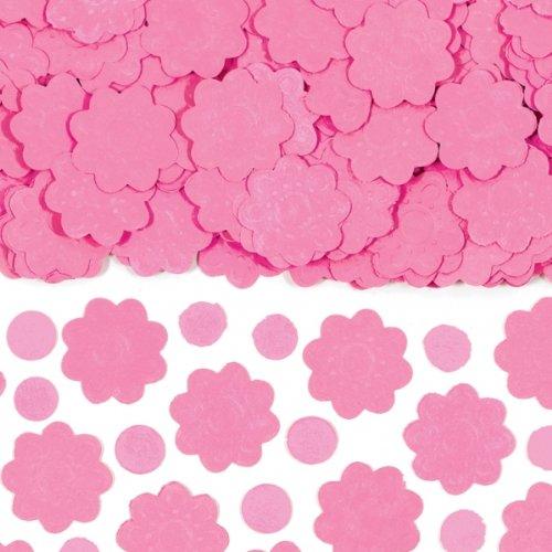Amscan International Confettis de papier Rose