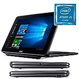 Acer One 10 S1003-174L - Convertible 2 en 1 de 10.1' WXGA LCD (WiFi, Bluetooth, Procesador Intel Atom x5-Z8300, 2 GB de RAM, 32 GB de almacienamento, Windows 10 Home) Negro - Teclado QWERTY Español