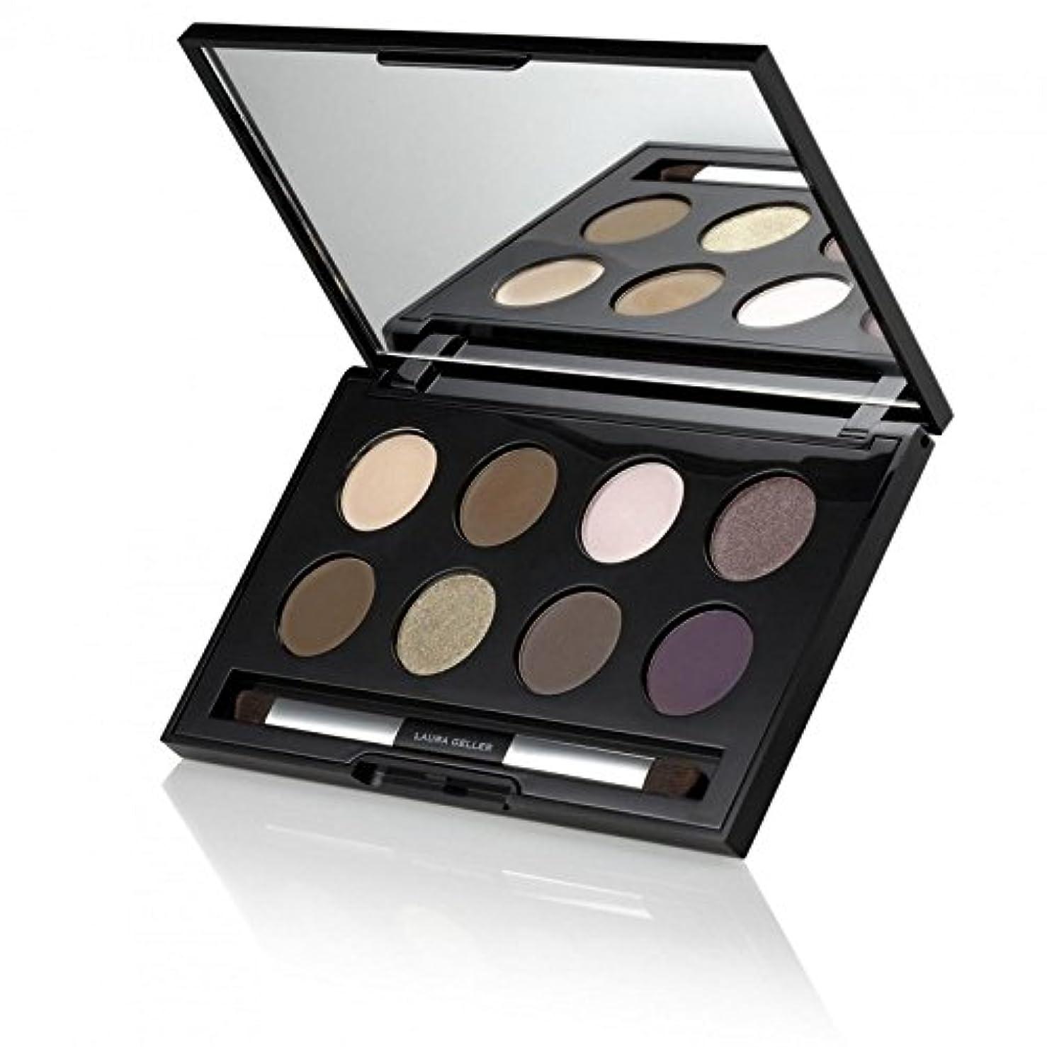 手段助けて引き受けるローラ?ゲラーは、ダブルエンドブラシで焼いたアイシャドウパレットを釉薬 x2 - Laura Geller Creme Glaze Baked Eyeshadow Palette With Double-Ended Brush (Pack of 2) [並行輸入品]