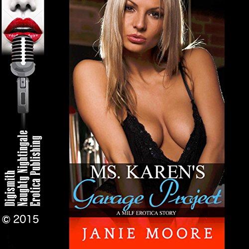 Ms. Karen's Garage Project audiobook cover art