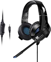 Cehensy Gaming Headset Over Ear Headphone Stereo Surround Sound Earpiece Noise Cancelling Earphone with Mic for PS4, Xbox One, Nintendo Switch/3DS/New 3DSII, Laptop, Computer, Tablet, iPad, Phones etc