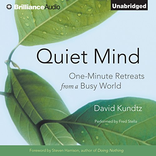 Quiet Mind audiobook cover art