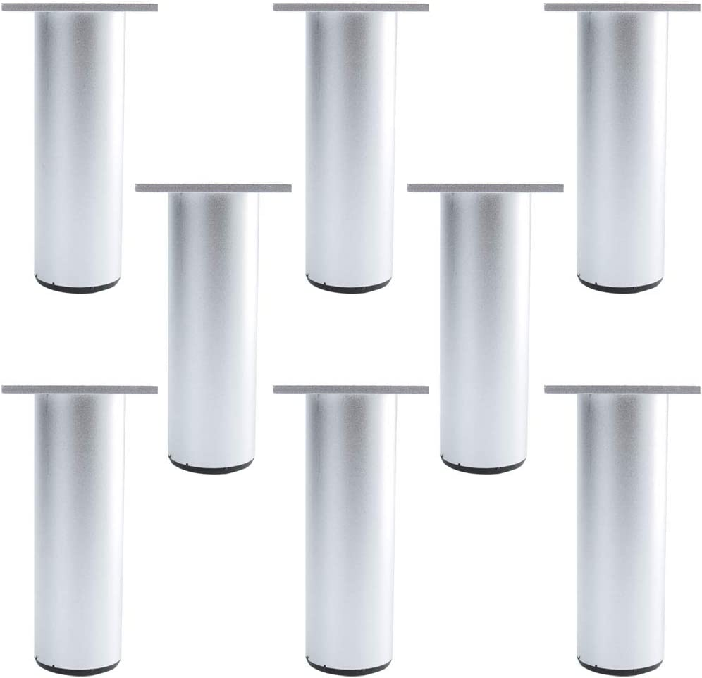 uxcell mart 5 Inch Round Furniture Legs Aluminium Couch Sofa Ranking TOP15 Ta Alloy
