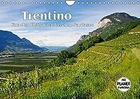 Trentino - Von den Dolomiten bis zum Gardasee (Wandkalender 2022 DIN A4 quer): Entdeckungen im noerdlichen Italien (Geburtstagskalender, 14 Seiten )