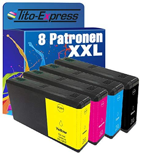 platinumserie–Juego de 8cartuchos de tinta XXL compatible con Epson te7891de te7894WorkForce Pro WF 5100Series 5110DW WF-5190DW 5600Series 5620DWF WF-5690DWF