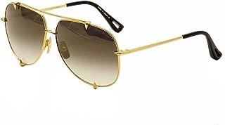 Sunglasses Dita TALON 23007 D-18K 18K Gold w/ Dark Grey to ClearGold Flash-AR