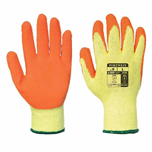 Portwest Fortis A150 Gripper Glove XXLarge/11 Orange Pack 12