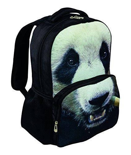 HIGHLANDER, 42 x 29 x 13 cm, Sac à Dos 25 l, M Multicolore - Animal Print(Panda)
