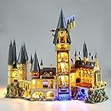 TETAKE Beleuchtung LED Light Kit für Lego 71043 - Licht Beleuchtungsset für Lego Harry Potter Schloss Hogwarts (Nicht Enthalten Lego Modell)