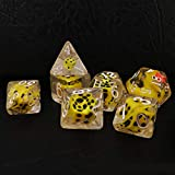 Bescon Novelty Polyhedral <span class='highlight'><span class='highlight'>Dice</span></span> Set YellowDuck, Yellow Duck RPG <span class='highlight'><span class='highlight'>Dice</span></span> set of 7