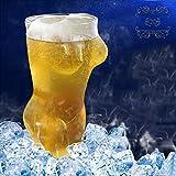 Vasos De Whisky Naked Women Girl Cup - Crystal Clear Shot Cocktail Beer - Vasos Sin Plomo - para Vino, Licor, Licores, Ginebra, Agua, Vodka, Whisky, 360 Ml