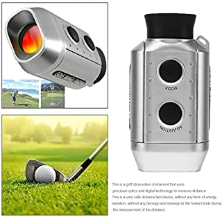 Digital 7X Optic Telescope Laser Golf Range Finder Golf Scope Yards Measure Outdoor Distance Pocket Meter Rangefinder