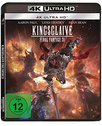 Kingsglaive: Final Fantasy XV 4K-UHD [Blu-ray]