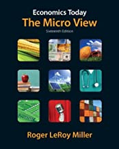 Economics Today: The Micro View plus MyEconLab with Pearson Etext Student Access Code Card Package (16th Edition) (The Pearson Series in Economics)