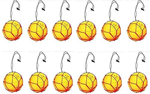 12 Soccer Ball Bungee Elastic Juggling Skill Train