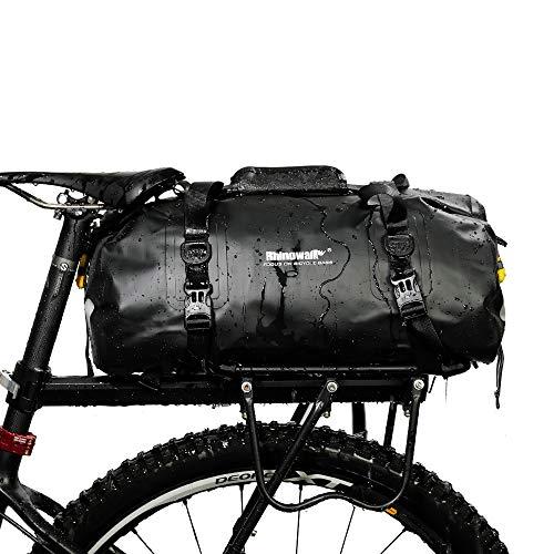Sac de vélo de sport étanche multifonction, 20 L, pour homme, noir
